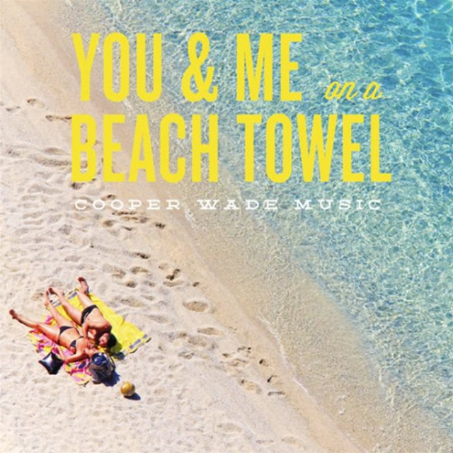 You and me on a beach towel